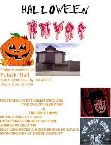 Pulaski Hall Halloween Bash in Bay City, MI @ Pulaski Hall | Bay City | Michigan | United States