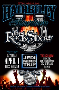 5th Annual Hairbilly Showdown, The Red Room inside The Dow Event Center, Saginaw, MI @ The Dow Event Center | Saginaw | Michigan | United States